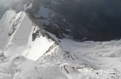 Cresta Signal al Monte Rosa (Punta Gnifetti) -  A lezione di misto con la guida alpina Paolo Paglino
