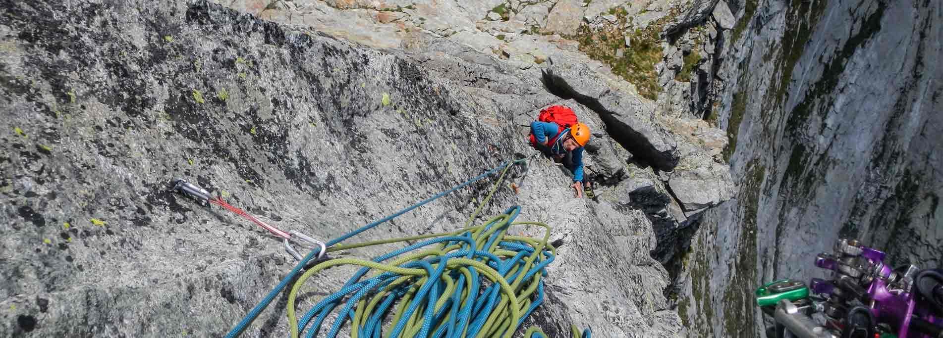 Urlo della Poiana - Punta Pioda in valle Antigorio - Alpinismo ed eplorazione