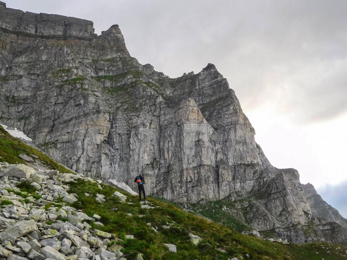 Spigolo Micotti al Cornera all'alpe devero