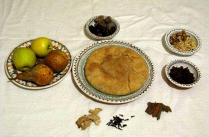 Cibo dei pellegrini, Dolci e frittelle di grasso e di magro
