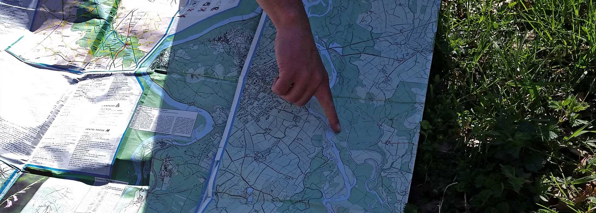 Orienteering naturalistico, piccoli esploratori con bussola e mappe