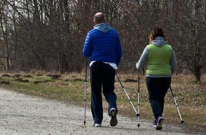 Nordic walking ...a lezione nel Parco