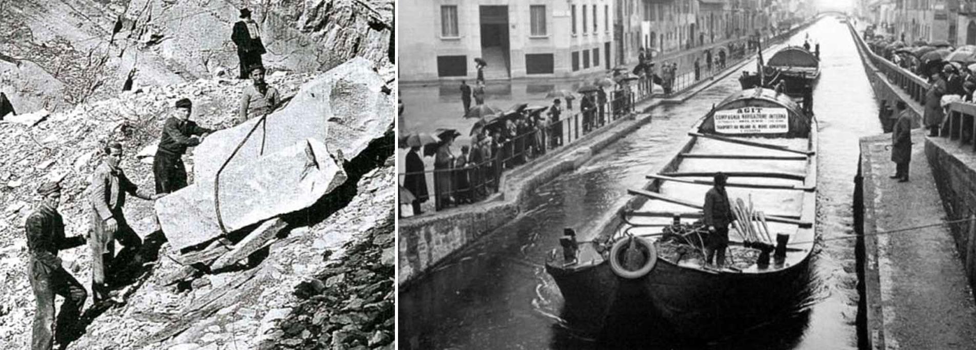 La via del marmo. Un viaggio nei secoli da Candoglia a Milano.