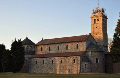 Battistero e Basilica di San Vittore -  Arsago Seprio