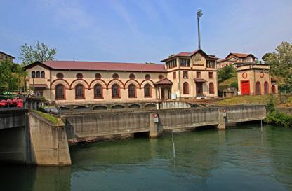 La centrale idroelettrica Ludovico il Moro di Vigevano