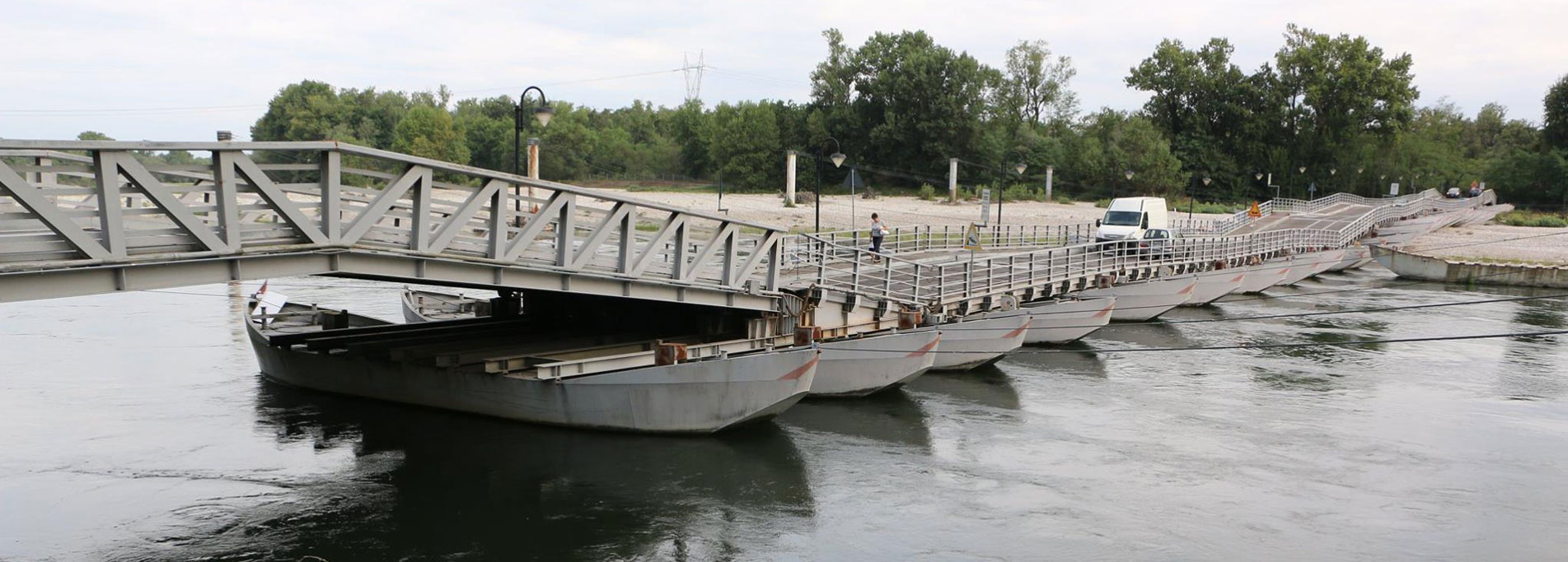 Ponte delle Barche di Bereguardo