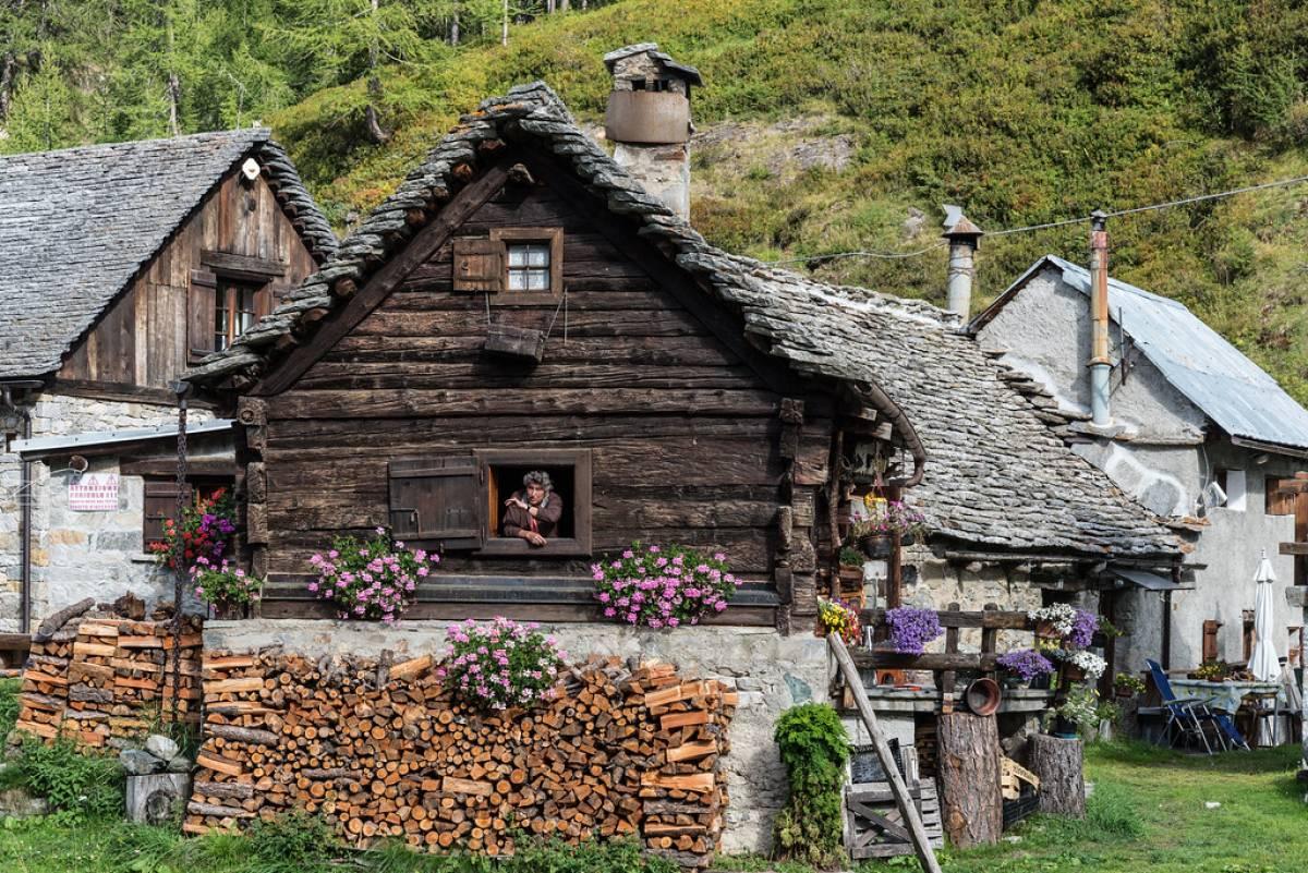 Baita tradizionale - Crampiolo Alpe Devero