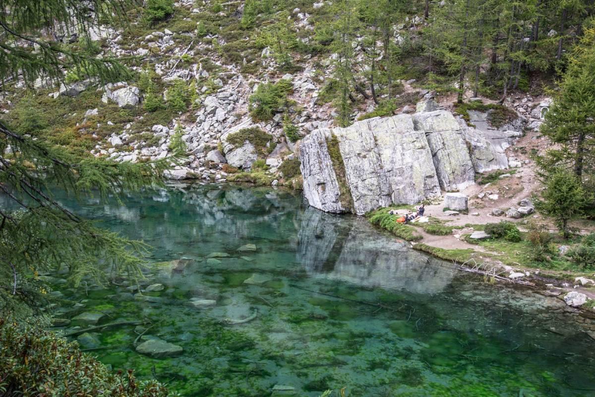 Lago delle streghe - Alpe Devero - Crampiolo