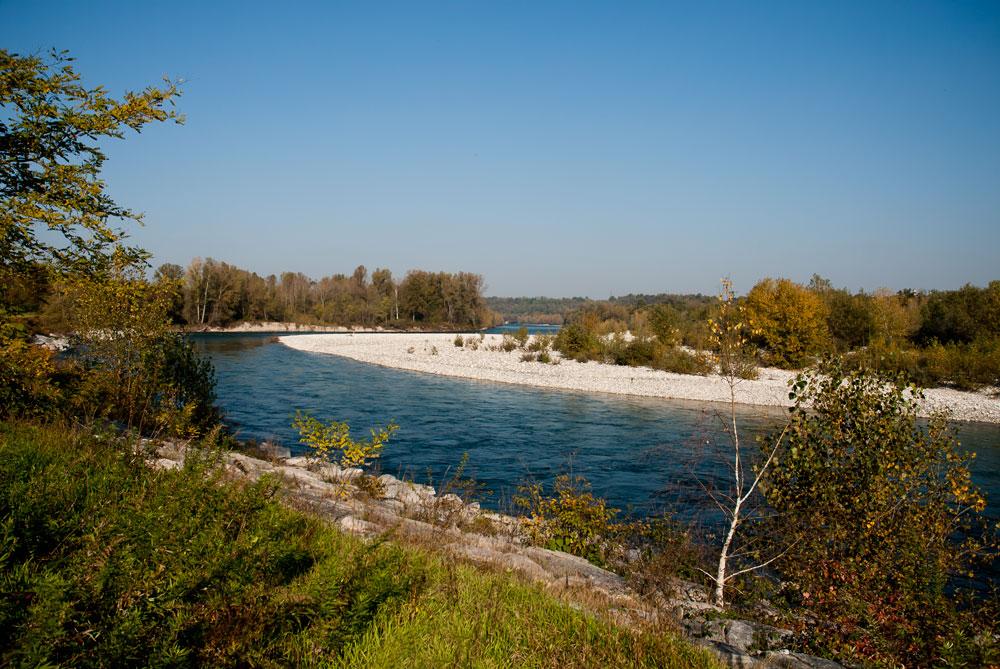 Ansa del fiume Ticino - Anello mulino di Bellinzago