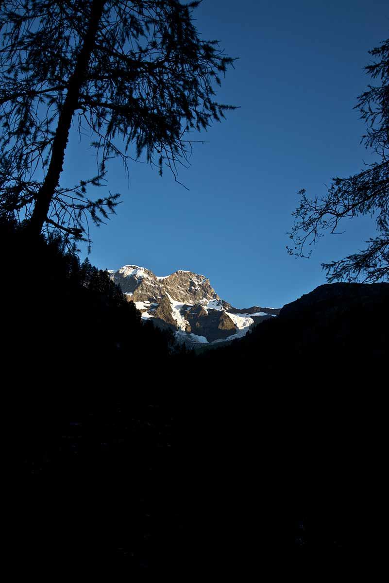 Monte Rosa, versante sud