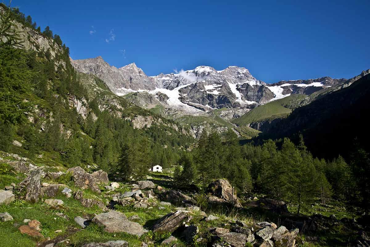 Monte Rosa, versante valsesiano