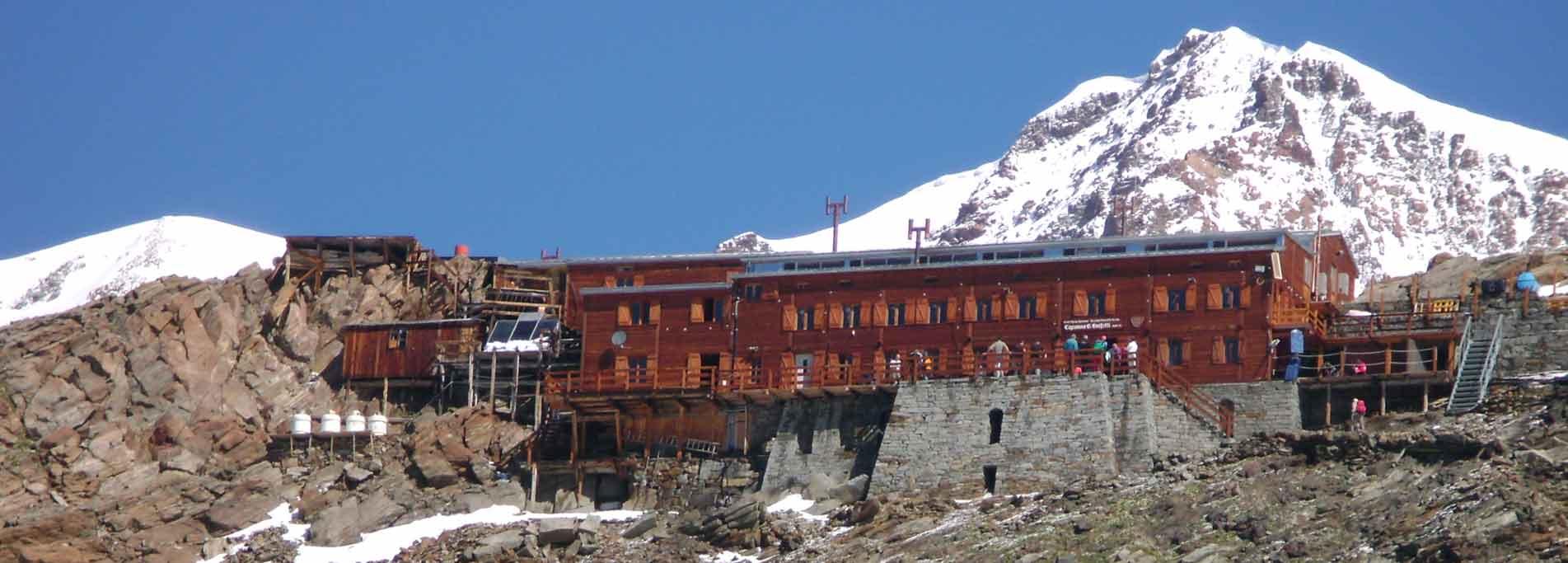 Da Alagna Valsesia al Rifugio Gnifetti del Monte Rosa
