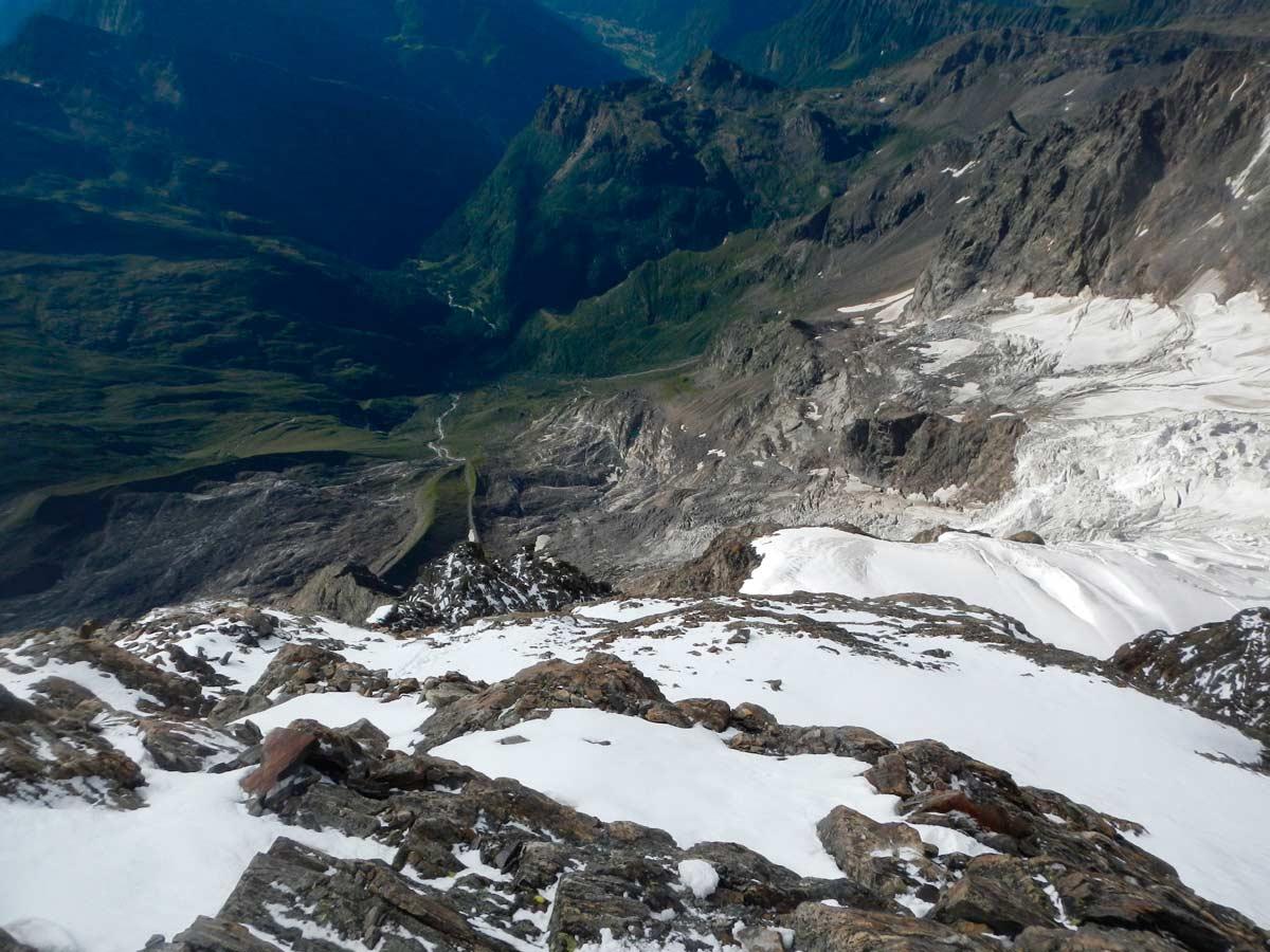 Sguardo sulla Valsesia dalla Via degli Italiani