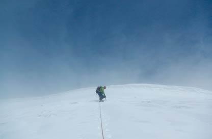 Via degli Italiani alla Parrot - Versante Sud del Monte Rosa