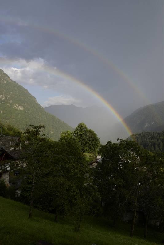 doppio arcobaleno a Dughera