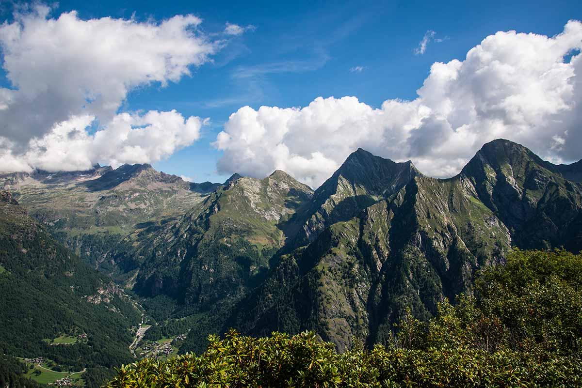 Alpe Sattal dalla Cima Muta