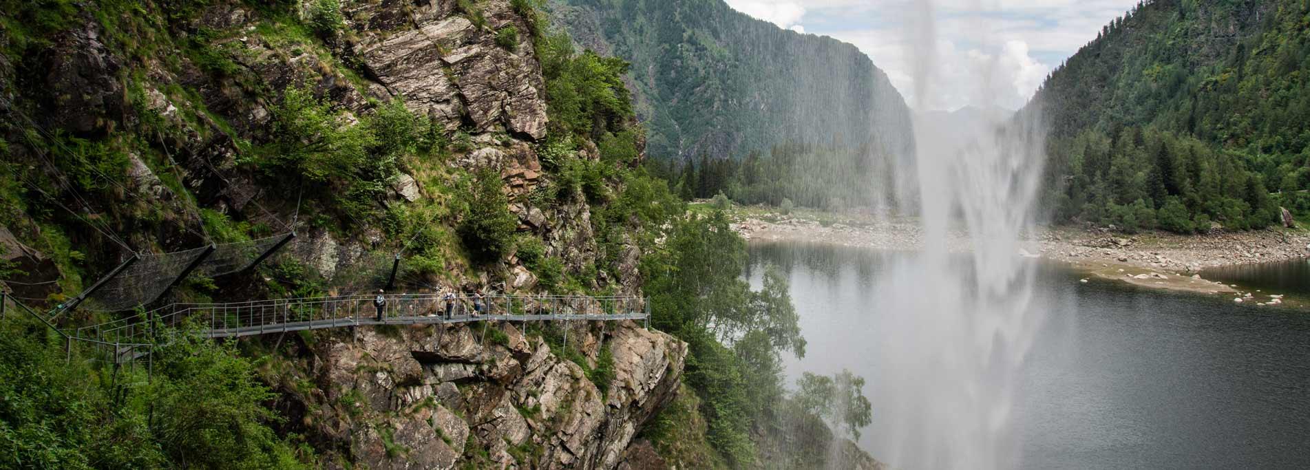 Anello Lago di Antrona - Diga di Campliccioli